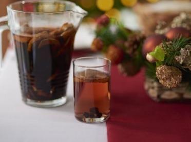 Wigilijny kompot z suszu - świąteczny napój na lepsze trawienie