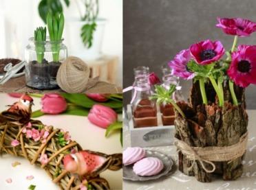 Zaproś wiosnę do domu - dekoracje DIY