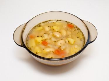 Szablok, czyli zupa fasolowa po kujawsku