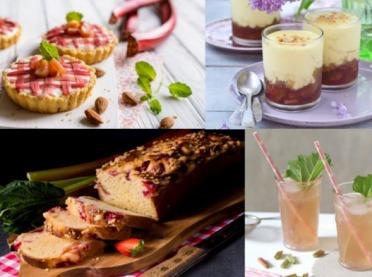 Rabarbar w roli głównej - smakowite przepisy na wiosnę