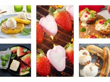 Oryginalny deser z grilla - kilka owocowych propozycji