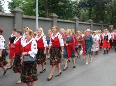 VIII Ogólnopolski Zjazd Kół Gospodyń Wiejskich w Licheniu