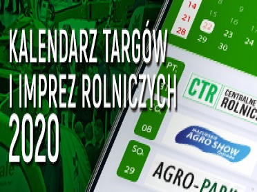 Targi rolnicze 2020 - kalendarz imprez rolniczych