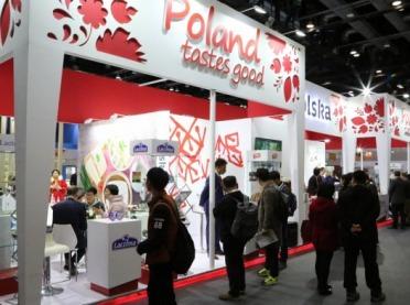 Polskie stoisko na targach w Chinach