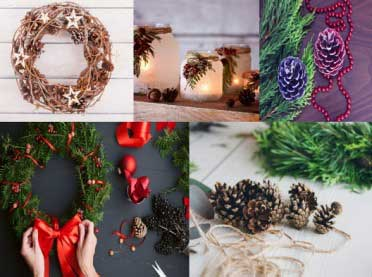 Dekoracje na Boże Narodzenie - nasze inspiracje DIY