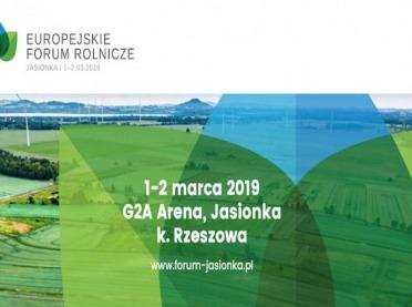 Zaproszenie na Europejskie Forum Rolnicze 2019