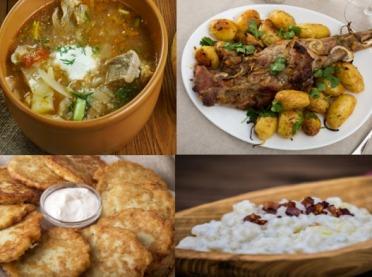 """Tradycyjna kuchnia góralska - przepisy """"spod samiuśkich Tater"""""""