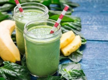 Zielone koktajle - bomba witamin