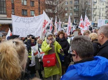 Strajk pracowników ODR-ów