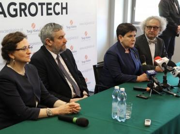Wicepremier i minster rolnictwa na otwarciu AGROTECH w Kielcach