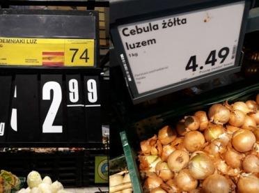 Kosmiczne ceny warzyw - ale tylko w sklepach