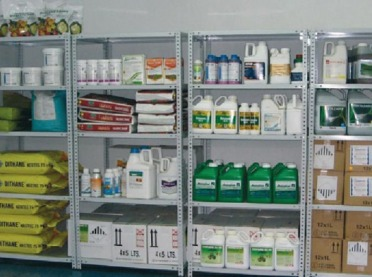 Bezpieczne przechowywanie środków ochrony roślin
