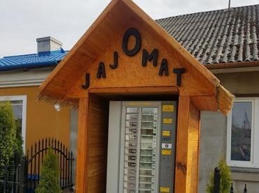Postawili we wsi jajomat - mieszkańcy są zachwyceni!