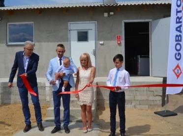 Otwarcie budynku inwentarskiego Gobarto 500 na Mazowszu