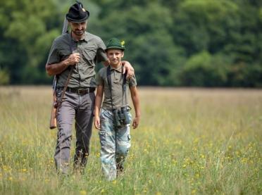 Na polowanie razem z dziećmi?