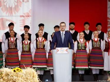 Premier Morawiecki w Kolnie: 1000 zł dopłaty do hektara
