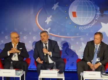 Minister rolnictwa o żywności na Forum Ekonomicznym w Krynicy