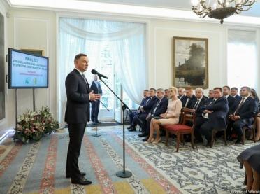 Prezydent: Polska wieś staje się wizytówką Rzeczypospolitej