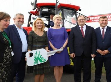 Finałowa gala konkursu Bezpieczne Gospodarstwo Rolne podczas AGRO SHOW w Bednarach