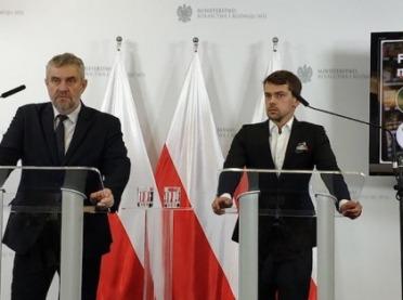 Minister Ardanowski i Michał Kołodziejczak wspólnie o działaniu przeciw fałszowaniu żywności