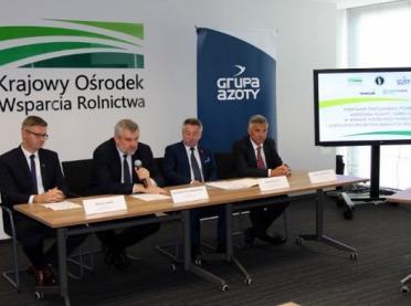 KOWR i Grupa Azoty rozpoczynają współpracę