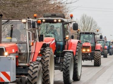 Wielkie protesty rolników w Holandii