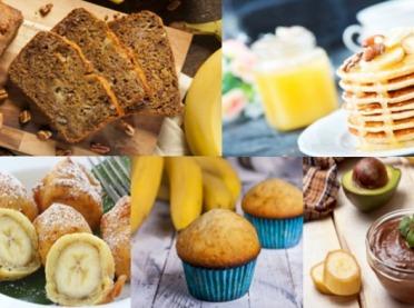 5 znakomitych przepisów z bananami w roli głównej