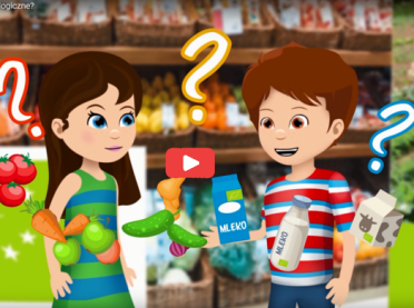 """Film animowany """"Skąd się biorą produkty ekologiczne"""""""