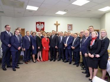 Prezydent Andrzej Duda odwiedził Mlekovitę