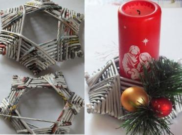Propozycje świątecznych dekoracji od KGW Mogilno Małe