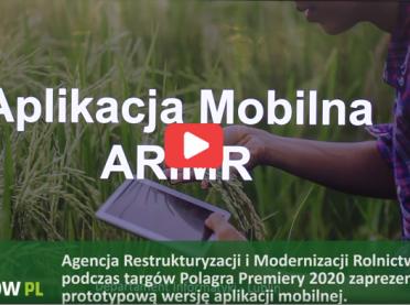 WIDEO: aplikacja dla rolników od ARiMR