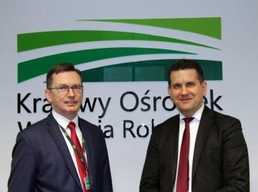 Podpisanie porozumienia o współpracy pomiędzy KOWR i GUS