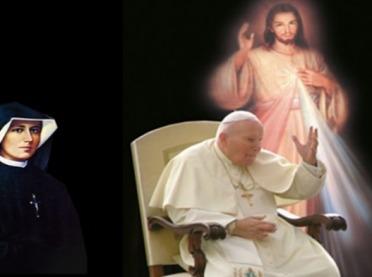 """O Święcie Miłosierdzia Bożego i niezwykłej """"współpracy"""" św. Jana Pawła II i św. s. Faustyny"""