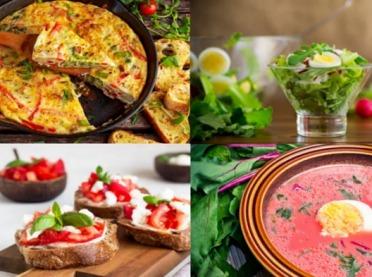 Nowalijki w kuchni - 6 przepisów na wiosenne dania