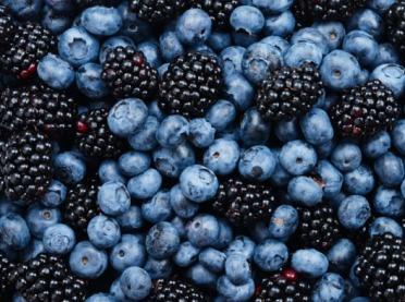 Owoce jagodowe - na dolegliwości jamy ustnej