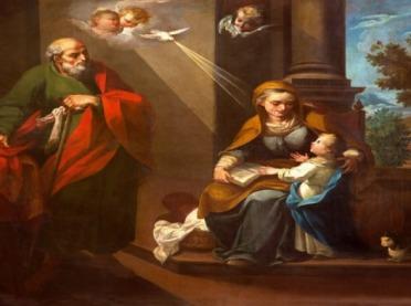 Joachim i Anna - święci dziadkowie