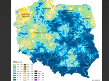 IUNG-PIB: Susza w 11 województwach!