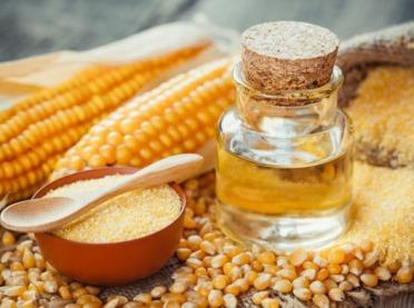 Złociste kosmetyki z kukurydzy DIY