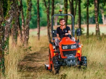 Kubota wprowadza na rynek nową serię traktorów kompaktowych EK1