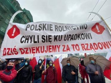 Dziś kolejny protest rolników w Warszawie!