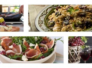 Winogrono w kuchni - domowe wino, sałatki i pyszne dania